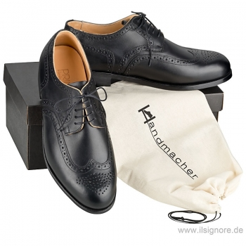 Full Brogue Derby schwarz