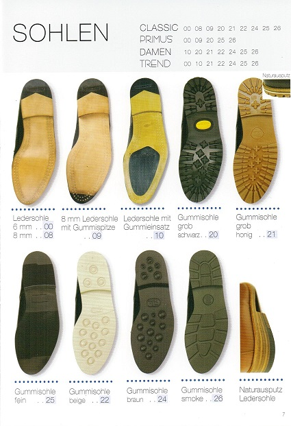 Handmacher sole at a glance