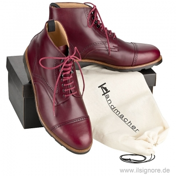 Mens ankle boots by Handmacher Austria