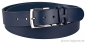 Preview: Handmacher belt in blue colour for jeans