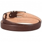 Preview: mocha brown leather belts