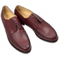 Preview: Handmacher ruby colored derby shoe