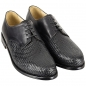 Preview: Handmacher model 22 woven leather upper