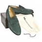 Preview: Handmacher model 55 suede green