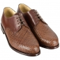 Preview: Woven leather shoes for men