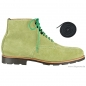 Preview: Handmacher green suede boots