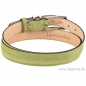 Mobile Preview: Handmacher suede belt forest green
