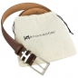 Preview: Handmacher belt nut brown