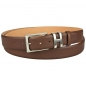Preview: mens brown leather belt