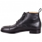 Preview: Handmacher model 57 black calfskin