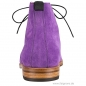 Preview: Handmacher boots in purple suede