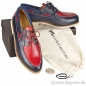 Mobile Preview: Handmacher model 18 calfskin two tone