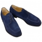 Preview: Handmacher model 34 suede blue