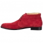 Preview: Handmacher George Boots suede red