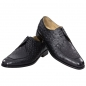 Preview: Handmacher model Trend 85 in black calfskin