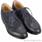 Preview: Handmacher woven leather shoes for men