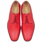 Preview: red salmon leather shoes by Handmacher