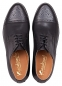 Preview: Half brogue derby shoes calfskin black
