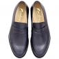 Preview: Handmacher model 55 calfskin blue