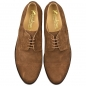 Preview: Handmacher shoes model 10 suede chestnut