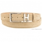 Preview: Suede belt beige