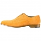 Preview: Handmacher suede oxford shoes mens