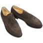 Mobile Preview: Handmacher shoes suede dark brown