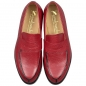 Preview: Handmacher model 54 scotch grain leather red