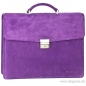 Preview: Purple leather bag