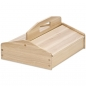 Mobile Preview: Wooden shoe shine box