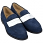Preview: Handmacher blue loafer