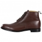 Preview: brown leather boots for men