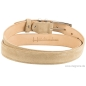 Preview: Handmacher suede belt beige