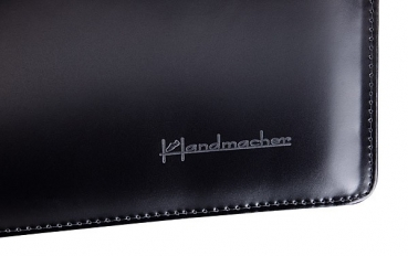 Handmacher bag small black calfskin