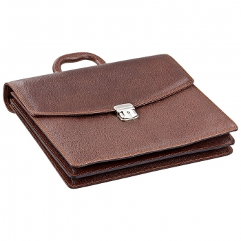 Handmacher mocha brown leather bag