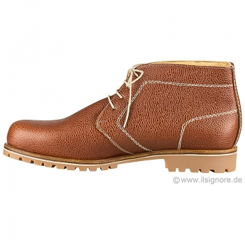 Brown leather boots from Handmacher