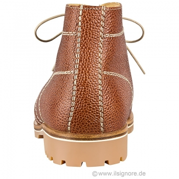 brown leather boots men
