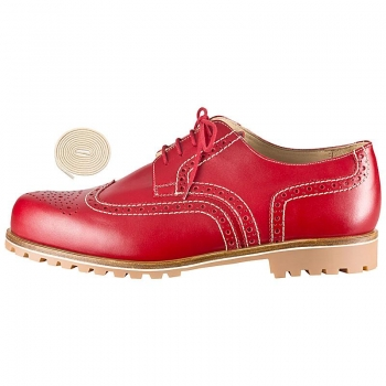 Handmacher full brogue derby shoes