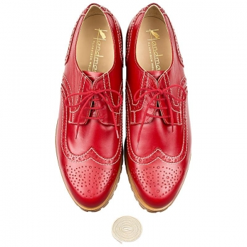 Full brogue derby shoes