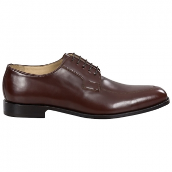 Handmacher brown derby shoes,leather derby shoes