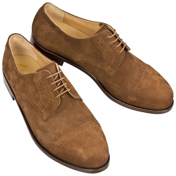 Derby shoes for men handcrafted
