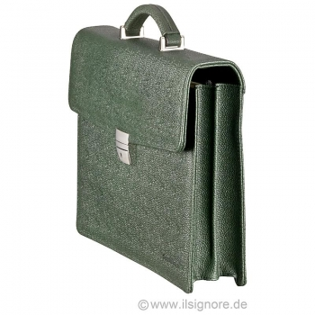 Dark green bag from Handmacher