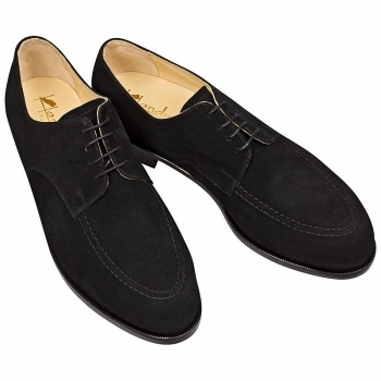 Handmacher suede derby shoe