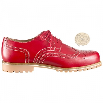Full brogue derby shoes by Handmacher