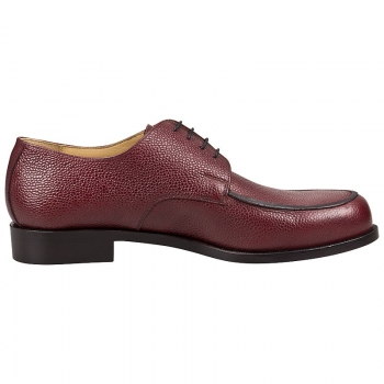 Derby Shoes ruby colored