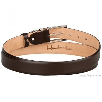 Handmacher belt boxcalf anilin mocha