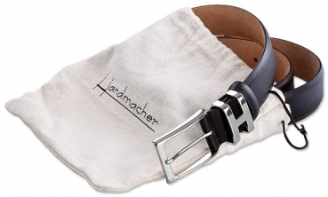 Handmacher Belt Boxcalf Anilin black