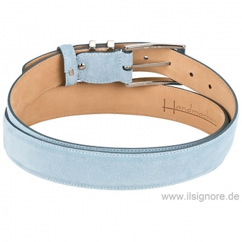 Light blue Handmacher belt