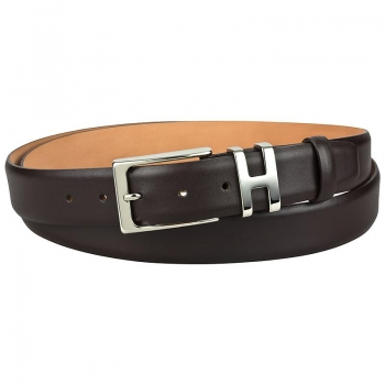 Handmacher brown leather belts