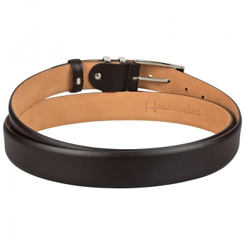 Handmacher brown leather belt